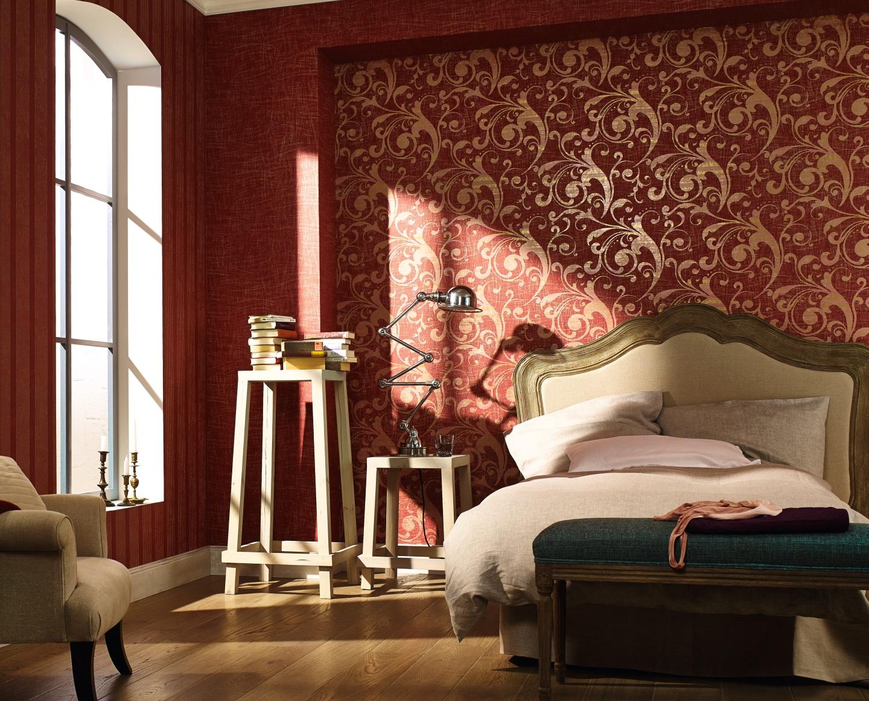 Каталог обоев для спальни фото
